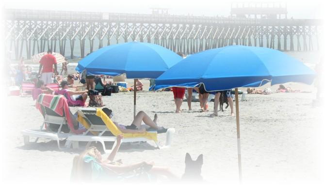 Folly Beach scene