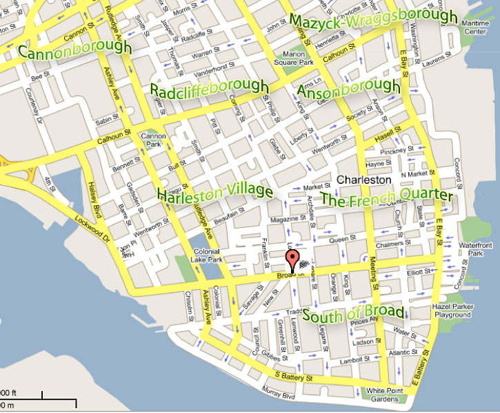 Charleston SC Map Of Hotels Submited Images