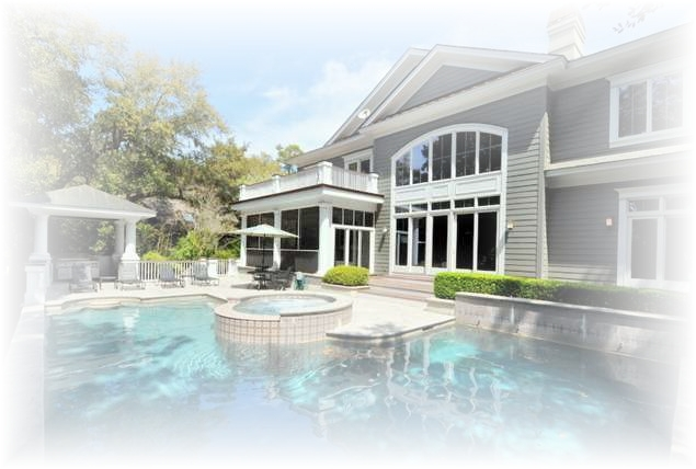 luxury beach home with pool