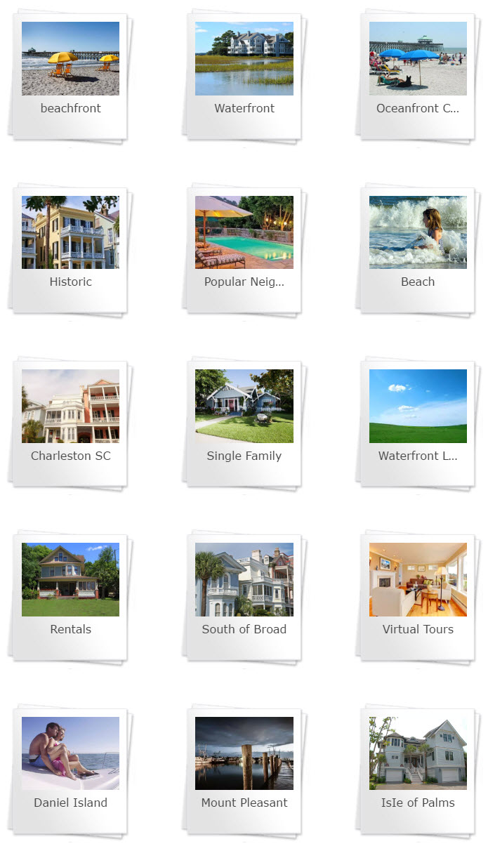 select a search or Charleston area to explore