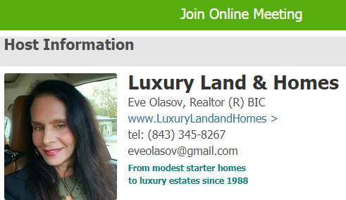 Join online meeting with Eve Olasov