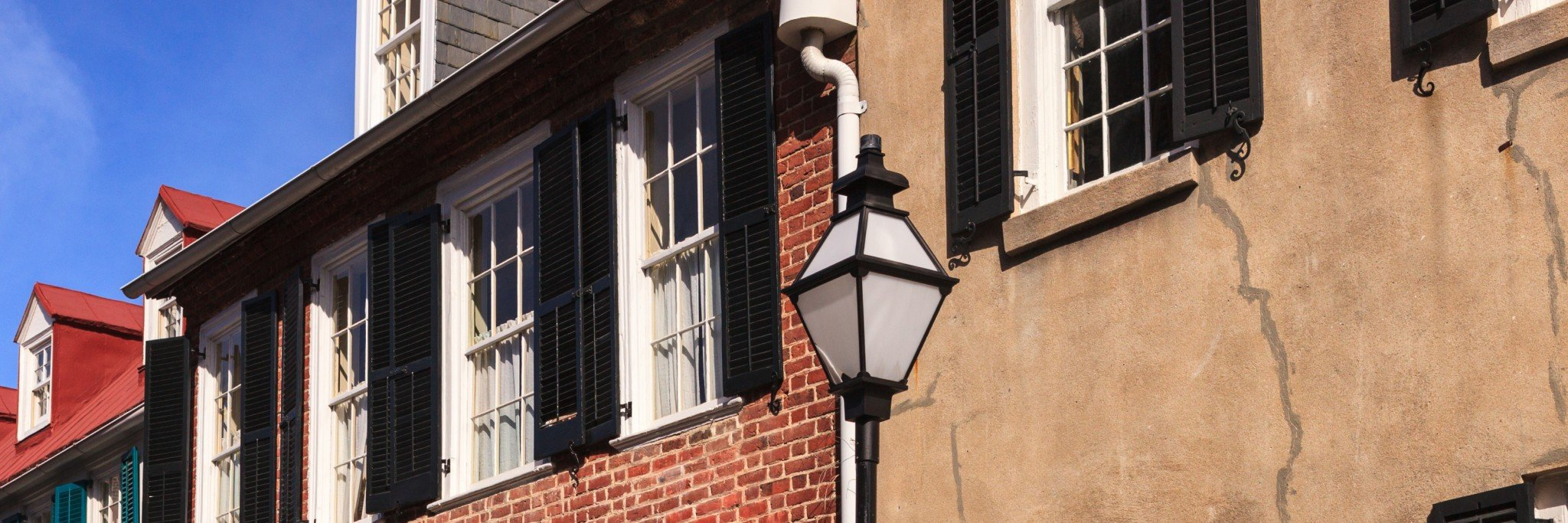 Historic Charleston Downtown Street Scene