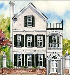 Charleston single home architectural style